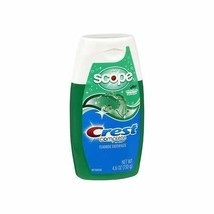 Crest Plus Scope Toothpaste Liquid Gel Minty Fresh - 4.6 oz, Pack of 2 - $15.22