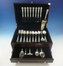 Memory Lane by Lunt Sterling Silver Flatware Set 8 Service 46 Pieces