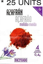 25 Units Spanish Saffron Powder Genuine Powdered Bulk Safran Spices of t... - $89.99