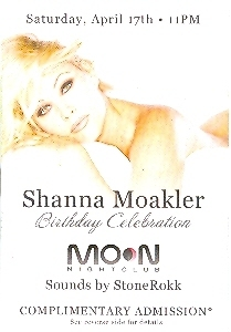 Primary image for Shanna Moakler Birthday Celebration Las Vegas VIP Pass