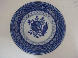 """Vintage Royal Copenhagen Cobalt Blue Porcelain Bowl, Marked """"Dot NH FAJANCE"""" - $17.64"""
