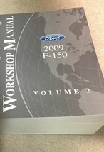 2009 Ford F-150 F150 Truck Service Shop Manual VOLUME 2 ENGINE TRANSMISSION - $39.55