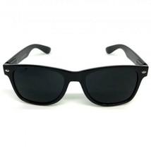 12 Pairs Men Sunglasses Wayfare Style Black Frame Classic Super Dark Len... - $37.83