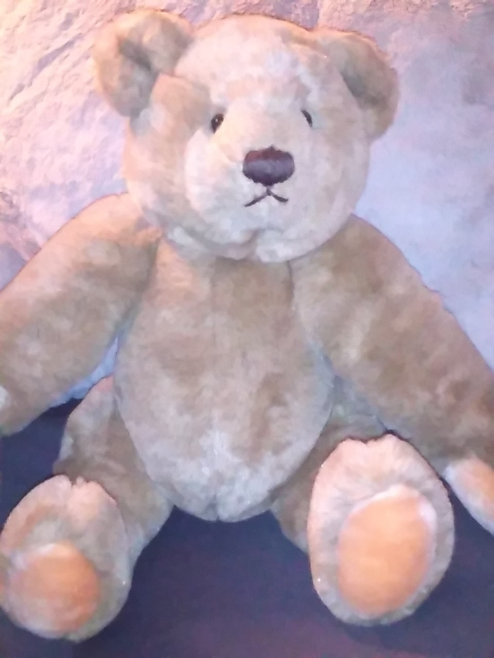 Bialosky 17 inch plush jointed bear Gund co 1982 image 2