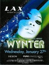 Wynter Gordon @ LAX Nightclub inside Luxor Hotel Las Vegas Promo Card - $3.95