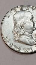 1949S 50C Franklin Silver Half Dollar KEY DATE Lot A701 image 2
