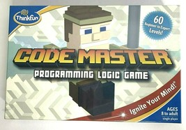 Code Master Programming Logic Game 60 Levels ThinkFun NEW  - $11.29