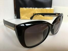 New FENDI FF 0019/S D289O 54mm Black Gradient Cats Eye Women's Sunglasses Italy - $189.99