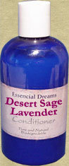 Desert Sage & Lavender Conditioner~ Organic 8 oz