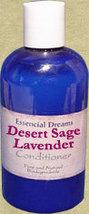 Desert Sage & Lavender Conditioner~ Organic 8 oz - $10.99