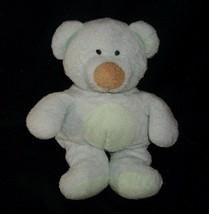Ty Pluffies 2002 Baby Bluebeary Teddy Bear Blue Green Stuffed Animal Plush Toy - $13.46