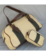 Estee Lauder Canvas Tote Travel Handbag and Make Up Case - $25.00