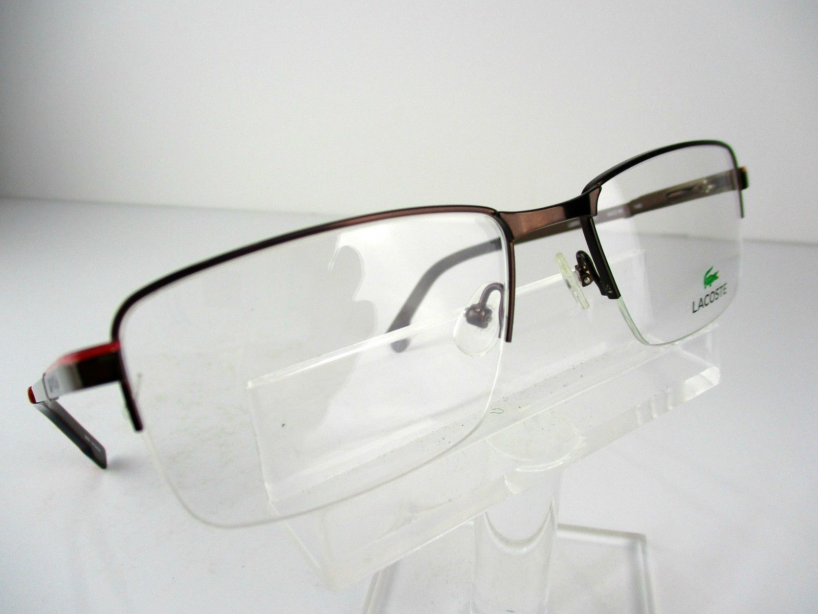 41f27f8bec5 Lacoste L-2203 (210) Brown 54 X 18 145 mm and 50 similar items