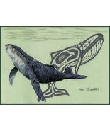 Humpback Whale cross stitch chart Sue Coleman The Stitching Studio  - $14.40