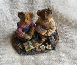 Jen and Michelle-Scrapbook Friends-Boyds Bears Bearstone #2277924 - $40.50