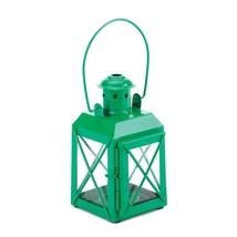 GREEN RAILWAY CANDLE LAMP - $18.00