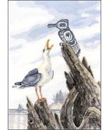 Seagull cross stitch chart Sue Coleman The Stitching Studio  - $14.40