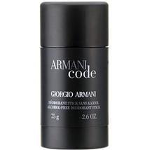 Giorgio Armani Code Homme Deodorant Stick 75 ml - $66.00