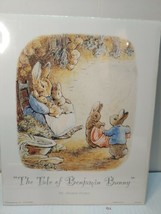 The Tale Of Benjamin Bunny By Beatrix Potter Lithograph - $9.89