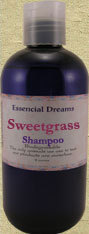 Sweet Grass Shampoo~ Body Care Organic 8 ounces Bonanza