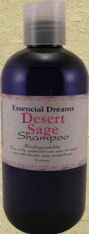 Desert Sage Shampoo  Body Care Organic 8 ounces Bonanza
