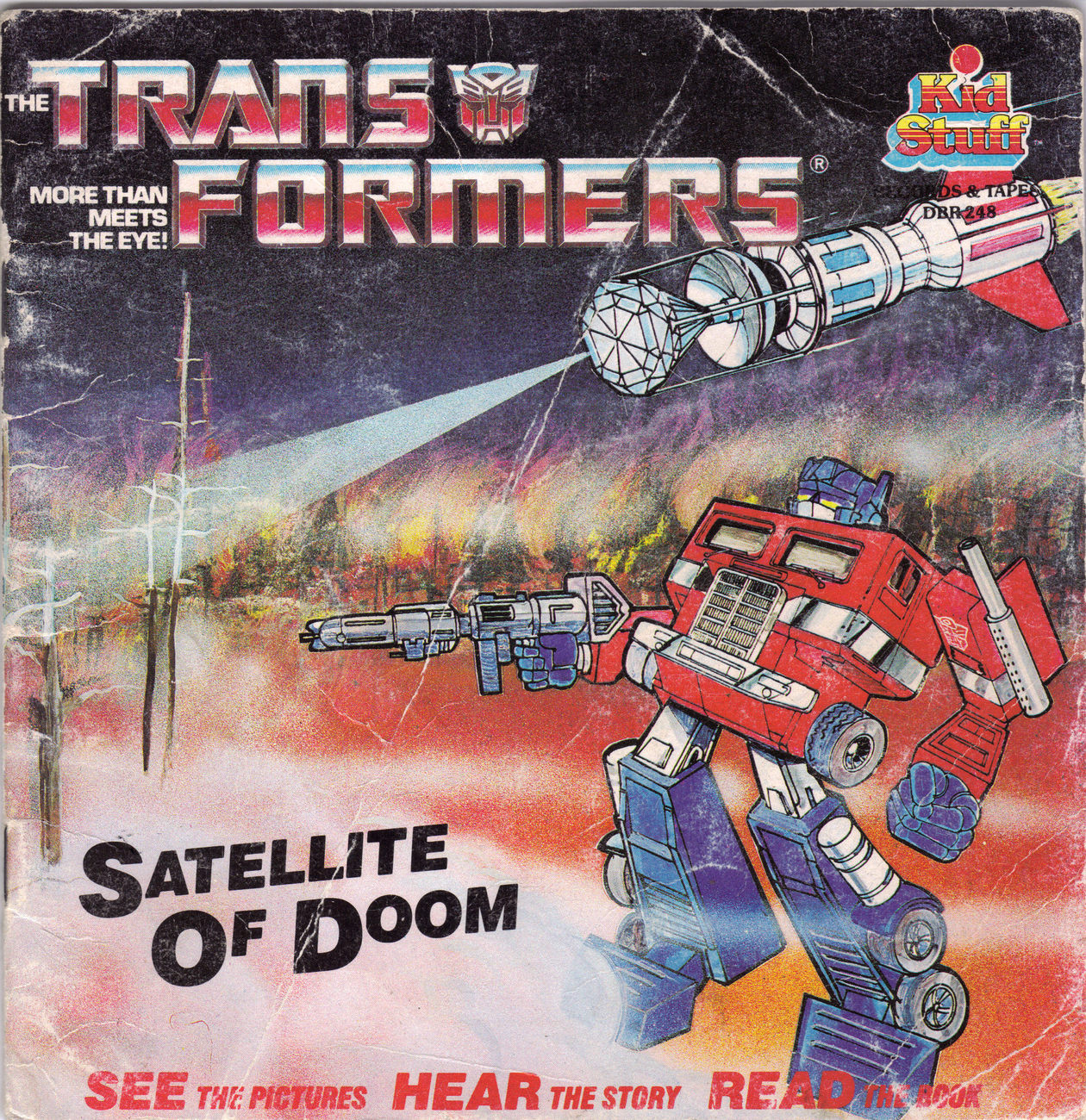 Primary image for The Transformers Satellite of Doom Children's Book