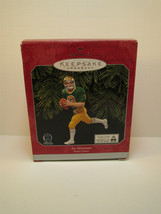1997 HALLMARK KEEPSAKE ORNAMENT NFL Joe Montana FOOTBALL LEGENDS - $13.86