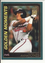 (SC-7) 2001 Topps Baseball Card #790: Chipper Jones - Golden Moments - $1.25