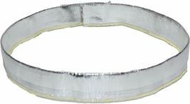 """Heat Shroud Aluminized Sleeving with Hook and Loop Closure 1"""" x 36"""" (3ft) image 5"""