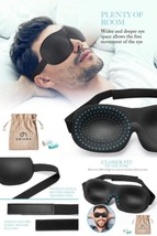 Eye Cover Sleep Mask For Unisex Patented Design 100% Blackout Comfortabl... - €9,87 EUR