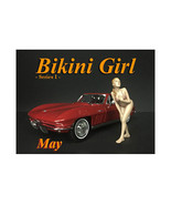 May Bikini Calendar Girl Figure for 1/18 Scale Models by American Diorama - $17.14