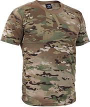 OCP Multicam Camo T-Shirt Military Tee Army Short Sleeve Cotton Crew Neck - $34.99+
