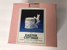 1994 Omnibus Easter Bunny Cottage Mug, Fitz and Floyd With The Original Box - $15.83