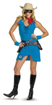 Lone Ranger Sassy Adult Womens Costume Cowgirl Wild West Ranch Halloween - $9.94