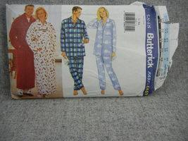 Robe Belt Pajama Top and Pants Unisex L-XL Butterick 5848   UC FF  - $7.00