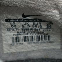 Nike Boy's Youth Kids Phantom Black & Gray Soccer Cleats Size 6Y image 6