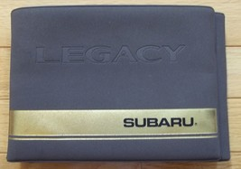 Subaru Legacy Car Auto Automobile Drivers Owners Manual 1995 - $39.60