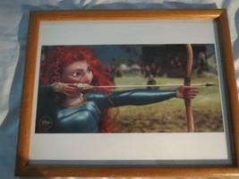 Disney Brave Lithograph Print Framed - $10.15