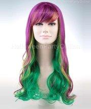 Mardi Gras Holiday Party Celebration Wig HW-153 - £22.77 GBP+