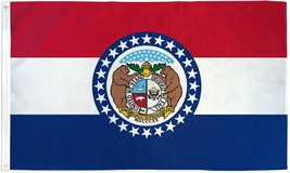 "STATE OF MISSOURI 3X5' FLAG NEW 36""X60"" - $9.85"