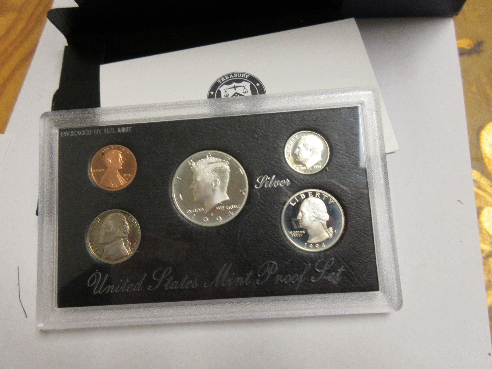 1994 U.S. Mint Silver Proof Set , Lot of 5 , New In Original Mint Package image 8