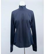 Tek Gear DryTek Black Long Sleeves Tennis Active Wear Performance Jacket - $24.74