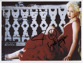 Cyndi Lauper (Singer) SIGNED Photo + COA Lifetime Guarantee - $69.99