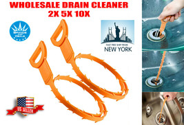 Lot Drain Snake Unblocker Remover Kitchen Bath Sink Hair Removal Tool Cl... - $5.78+