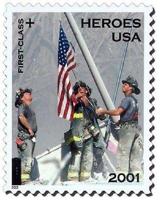 2002 34c Semi Postal, Heroes of 2001 Scott B2 Mint F/VF NH
