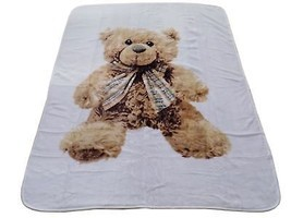 LUXURY SUPERSOFT TEDDY BEAR SHERPA FLEECE THROW BLANKET 150CM X 200CM - ... - $28.55
