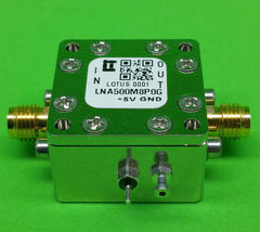 Amplifier LNA Module 0.5GHz to 8.0GHz with Low Noise Figure 1.3dB - $125.00