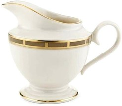 Lenox Desert Vista Ivory China Gold Banded Creamer New - $58.90
