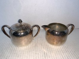 Vintage Forbes Silver Co. Plated Creamer & Sugar - $10.00