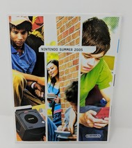 Nintendo Summer 2005 Catalog Gamecube GBA DS Zelda Pokemon Promo Display VTG - $39.59